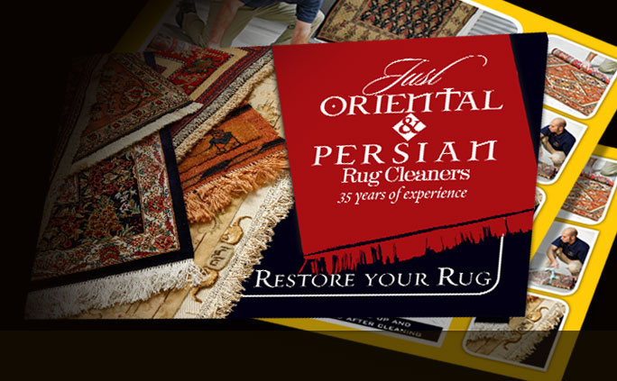 Just Oriental Rug Cleaners Postcards
